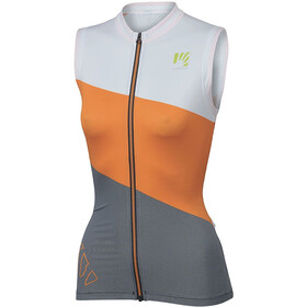 Karpos Verve Mouwloze Jersey Dames, orange/popsicle/white
